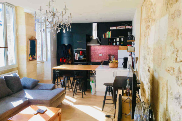Appartement Bordeaux Chartrons – T2 – Vendu