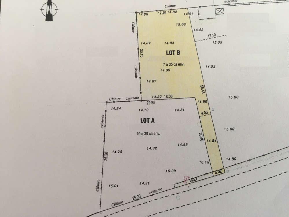 Plan terrain constructible Margaux Cantenac