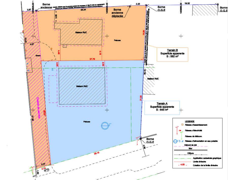 Terrain à bâtir à vendre à Margaux Cantenac